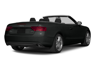 Mythos Black Metallic/Black Roof 2015 Audi A5 Pictures A5 Convertible 2D Premium Plus AWD photos rear view