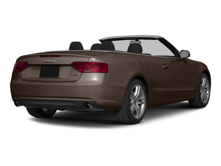 Teak Brown Metallic/Black Roof 2015 Audi A5 Pictures A5 Convertible 2D Premium Plus AWD photos rear view