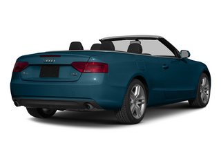 Utopia Blue Metallic/Black Roof 2015 Audi A5 Pictures A5 Convertible 2D Premium Plus AWD photos rear view