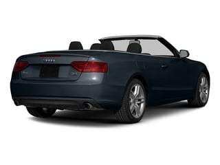 Moonlight Blue Metallic/Black Roof 2015 Audi A5 Pictures A5 Convertible 2D Premium Plus AWD photos rear view