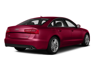 Garnet Red Pearl Effect 2015 Audi A6 Pictures A6 Sedan 4D 3.0T Prestige AWD photos rear view
