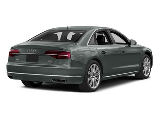 Monsoon Gray Metallic 2015 Audi A8 Pictures A8 Sedan 4D 3.0T AWD V6 Turbo photos rear view