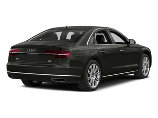 Brilliant Black 2015 Audi A8 Pictures A8 Sedan 4D 4.0T AWD V8 Turbo photos rear view