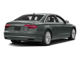 Monsoon Gray Metallic 2015 Audi A8 L Pictures A8 L Sedan 4D TDI L AWD V6 photos rear view