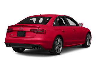 Misano Red Pearl Effect 2015 Audi S4 Pictures S4 Sedan 4D S4 Prestige AWD photos rear view
