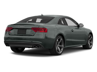 Monsoon Gray Metallic 2015 Audi S5 Pictures S5 Coupe 2D S5 Prestige AWD photos rear view