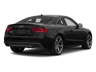 Brilliant Black 2015 Audi S5 Pictures S5 Coupe 2D S5 Prestige AWD photos rear view