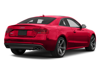 Misano Red Pearl Effect 2015 Audi S5 Pictures S5 Coupe 2D S5 Prestige AWD photos rear view