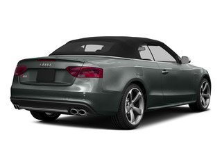 Monsoon Gray Metallic/Black Roof 2015 Audi S5 Pictures S5 Convertible 2D S5 Prestige AWD photos rear view