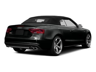Mythos Black Metallic/Black Roof 2015 Audi S5 Pictures S5 Convertible 2D S5 Premium Plus AWD photos rear view
