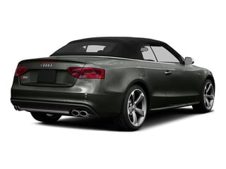 Daytona Gray Pearl Effect/Black Roof 2015 Audi S5 Pictures S5 Convertible 2D S5 Premium Plus AWD photos rear view