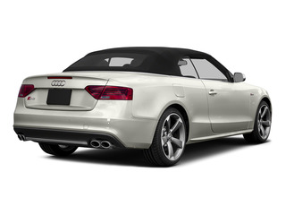 Ibis White/Black Roof 2015 Audi S5 Pictures S5 Convertible 2D S5 Premium Plus AWD photos rear view