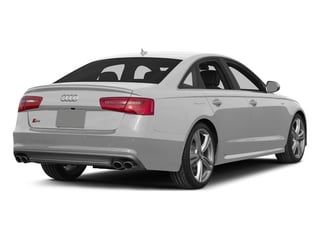 Ice Silver Metallic 2015 Audi S6 Pictures S6 Sedan 4D S6 Prestige AWD photos rear view