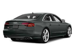 Monsoon Gray Metallic 2015 Audi S8 Pictures S8 Sedan 4D S8 AWD V8 Turbo photos rear view