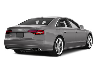 Cuvee Silver Metallic 2015 Audi S8 Pictures S8 Sedan 4D S8 AWD V8 Turbo photos rear view
