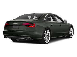 Daytona Gray Pearl Effect 2015 Audi S8 Pictures S8 Sedan 4D S8 AWD V8 Turbo photos rear view