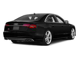 Brilliant Black 2015 Audi S8 Pictures S8 Sedan 4D S8 AWD V8 Turbo photos rear view