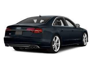 Moonlight Blue Metallic 2015 Audi S8 Pictures S8 Sedan 4D S8 AWD V8 Turbo photos rear view