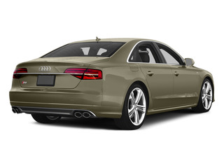 Argus Brown Metallic 2015 Audi S8 Pictures S8 Sedan 4D S8 AWD V8 Turbo photos rear view