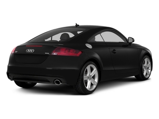 Phantom Black Pearl Effect 2015 Audi TT Pictures TT Coupe 2D AWD photos rear view