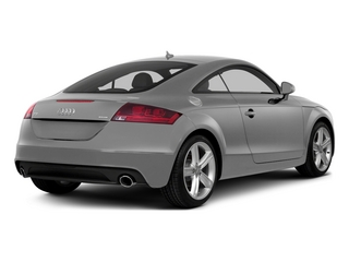 Ice Silver Metallic 2015 Audi TT Pictures TT Coupe 2D AWD photos rear view