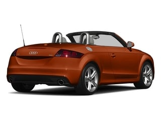 Volcano Red Metallic/Black Roof 2015 Audi TT Pictures TT Roadster 2D AWD photos rear view