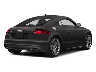 Oolong Gray Metallic 2015 Audi TTS Pictures TTS Coupe 2D AWD photos rear view