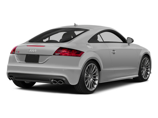Ice Silver Metallic 2015 Audi TTS Pictures TTS Coupe 2D AWD photos rear view