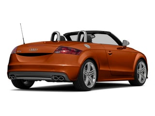 Volcano Red Metallic/Black Roof 2015 Audi TTS Pictures TTS Roadster 2D AWD photos rear view