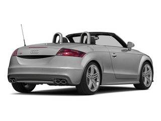 Ice Silver Metallic/Black Roof 2015 Audi TTS Pictures TTS Roadster 2D AWD photos rear view
