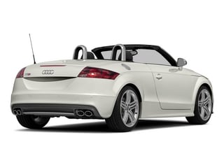 Ibis White/Black Roof 2015 Audi TTS Pictures TTS Roadster 2D AWD photos rear view