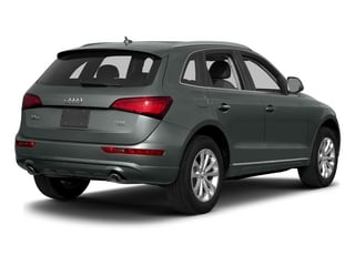 Monsoon Gray Metallic 2015 Audi Q5 Pictures Q5 Utility 4D 3.0T Premium Plus AWD photos rear view