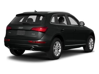 Mythos Black Metallic 2015 Audi Q5 Pictures Q5 Utility 4D 3.0T Premium Plus AWD photos rear view
