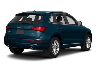 Utopia Blue Metallic 2015 Audi Q5 Pictures Q5 Utility 4D 2.0T Premium Plus AWD photos rear view