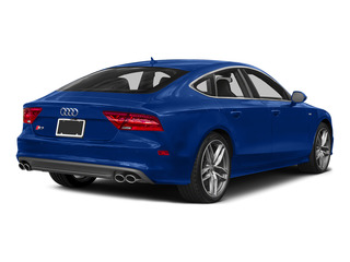 Sepang Blue Pearl Effect 2015 Audi S7 Pictures S7 Sedan 4D S7 Prestige AWD photos rear view