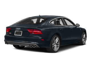 Moonlight Blue Metallic 2015 Audi S7 Pictures S7 Sedan 4D S7 Prestige AWD photos rear view