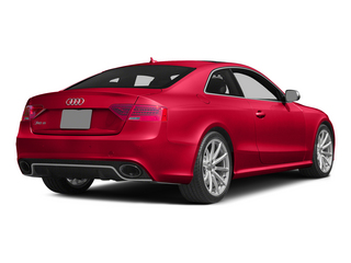 Misano Red Pearl Effect 2015 Audi RS 5 Pictures RS 5 Coupe 2D RS5 AWD V8 photos rear view