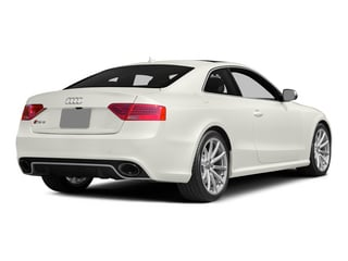 Ibis White 2015 Audi RS 5 Pictures RS 5 Coupe 2D RS5 AWD V8 photos rear view