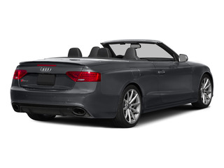 Nardo Gray/Black Roof 2015 Audi RS 5 Pictures RS 5 Convertible 2D RS5 AWD V8 photos rear view