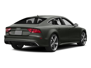 Daytona Gray Pearl Effect 2015 Audi RS 7 Pictures RS 7 Sedan 4D Prestige AWD photos rear view