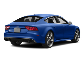 Sepang Blue Pearl Effect 2015 Audi RS 7 Pictures RS 7 Sedan 4D Prestige AWD photos rear view