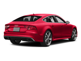 Misano Red Pearl Effect 2015 Audi RS 7 Pictures RS 7 Sedan 4D Prestige AWD photos rear view