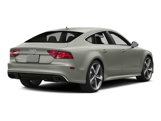 Prism Silver Crystal Effect 2015 Audi RS 7 Pictures RS 7 Sedan 4D Prestige AWD photos rear view