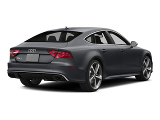 Nardo Gray 2015 Audi RS 7 Pictures RS 7 Sedan 4D Prestige AWD photos rear view