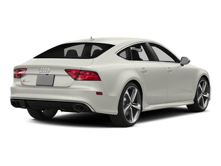 Ibis White 2015 Audi RS 7 Pictures RS 7 Sedan 4D Prestige AWD photos rear view