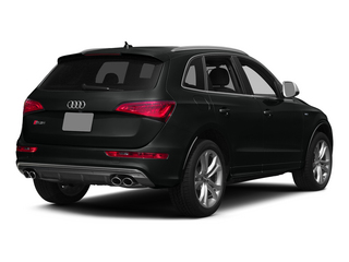 Mythos Black Metallic 2015 Audi SQ5 Pictures SQ5 Utility 4D Premium Plus AWD V6 photos rear view