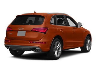 Volcano Red Metallic 2015 Audi SQ5 Pictures SQ5 Utility 4D Premium Plus AWD V6 photos rear view