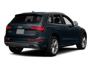 Moonlight Blue Metallic 2015 Audi SQ5 Pictures SQ5 Utility 4D Premium Plus AWD V6 photos rear view