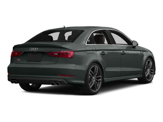 Monsoon Gray Metallic 2015 Audi S3 Pictures S3 Sedan 4D Prestige AWD I4 Turbo photos rear view