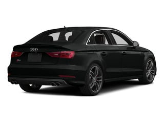 Mythos Black Metallic 2015 Audi S3 Pictures S3 Sedan 4D Prestige AWD I4 Turbo photos rear view